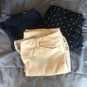 Trio old navy pants